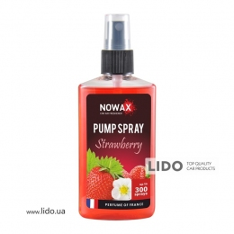 Ароматизатор Nowax PUMP SPRAY  Strawberry 75ml