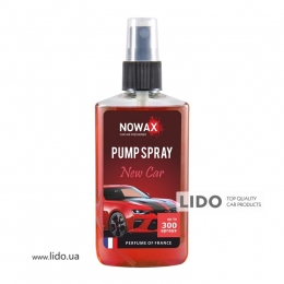 Ароматизатор Nowax PUMP SPRAY  New Car 75ml