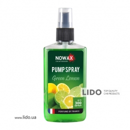 Ароматизатор Nowax PUMP SPRAY  Green lemon 75ml