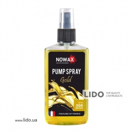 Ароматизатор Nowax PUMP SPRAY  Gold 75ml
