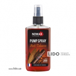 Ароматизатор Nowax PUMP SPRAY  Anti Tobacco 75ml