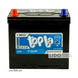Акумулятор Topla TOP Energy Japan 60 Ah/12V [+ -]