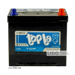 Акумулятор Topla TOP Energy Japan 60 Ah/12V [- +]