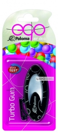Ароматизатор Paloma EGO TURBO GUM, black