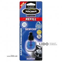 Сменный флакон Aroma Car Supreme REFILL - NEW CAR