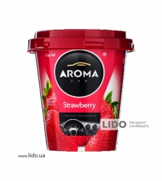 Ароматизатор Aroma Car CUP Gel 130g - STRAWBERRRY