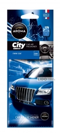 Ароматизатор Aroma Car City Card New Car