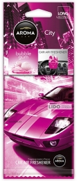 Ароматизатор Aroma Car City Card Bubble Gum