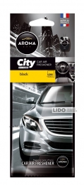 Ароматизатор Aroma Car City Card Black