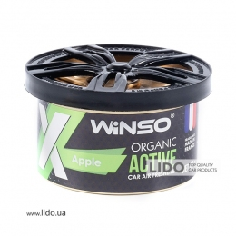 Ароматизатор Winso X Active Organic Apple, 40g
