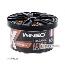 Ароматизатор Winso X Active Organic Anti Tobacco, 40g