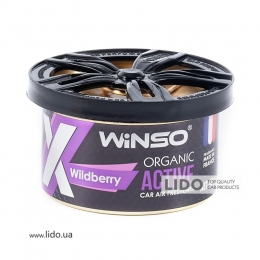 Ароматизатор Winso X Active Organic Wildberry, 40g