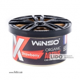 Ароматизатор Winso X Active Organic Strawberry, 40g