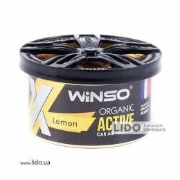 Ароматизатор Winso X Active Organic Lemon, 40g