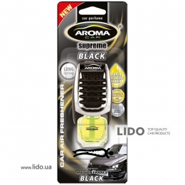 Ароматизатор Aroma Car Supereme Slim 8ml - BLACK