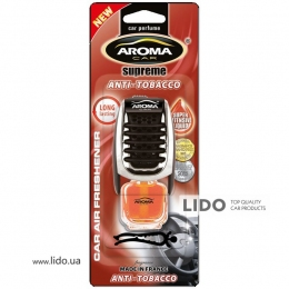 Ароматизатор Aroma Car Supereme Slim 8ml - ANTI TOBACCO