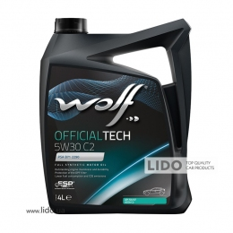 Моторное масло Wolf Official Tech C2 5w-30 4L