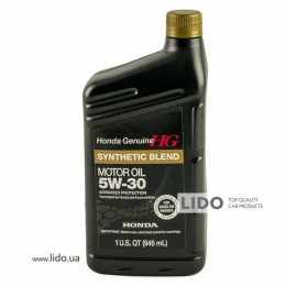 Моторное масло Honda Genuine Synthetic Blend 5w-30 1qt (946 ml)